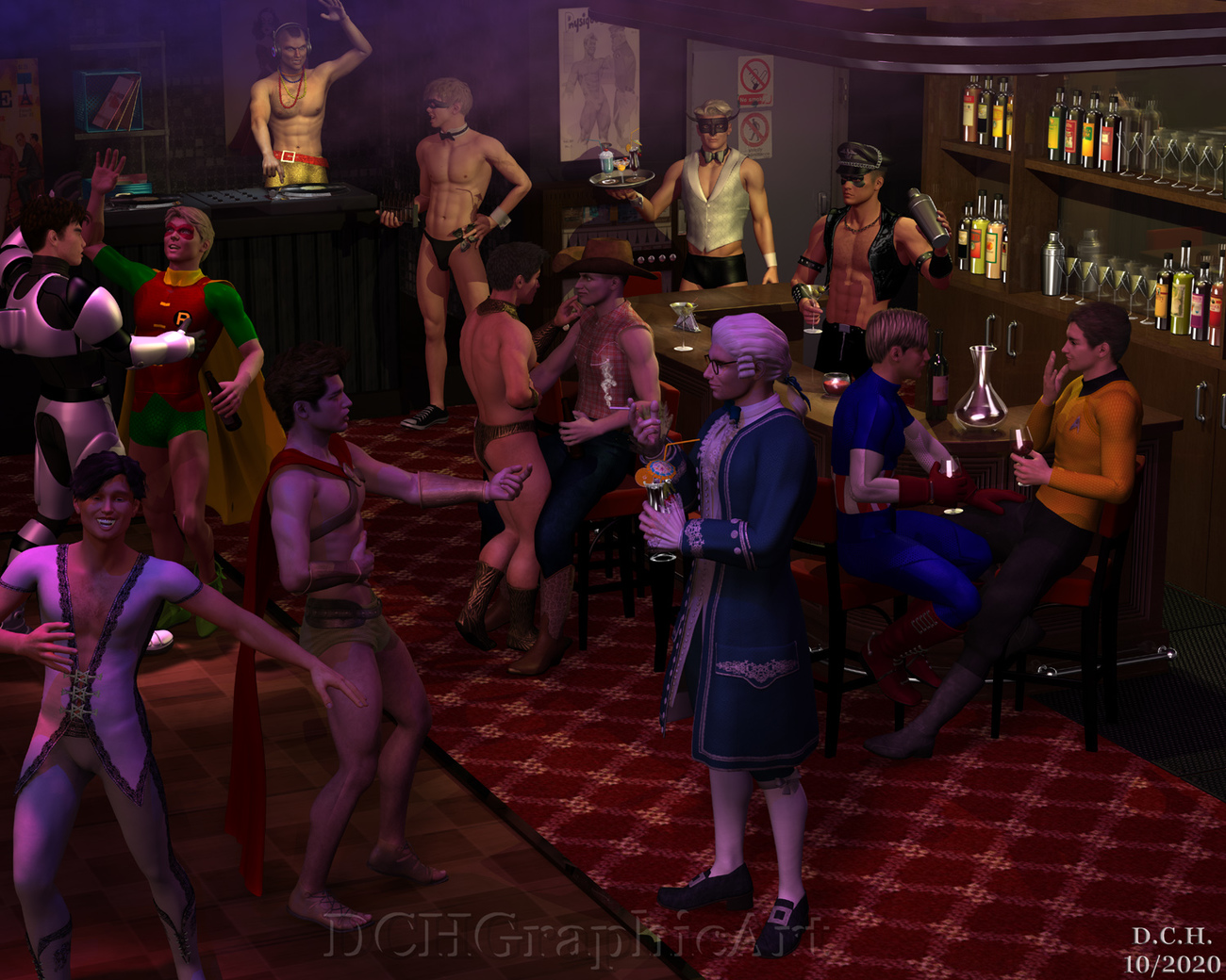 Halloween Party by uncollared