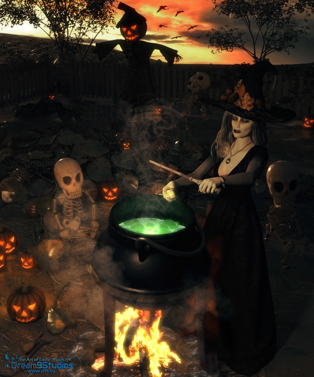 The Witch's Brew by Dream9Studios