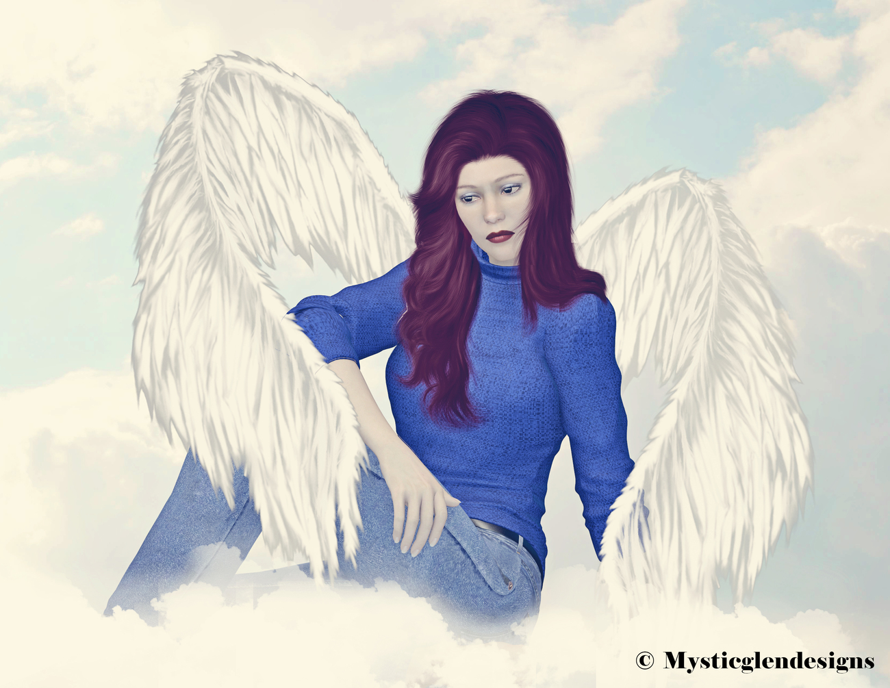 RIP Peggy Fly high with the Angels by princessmoon