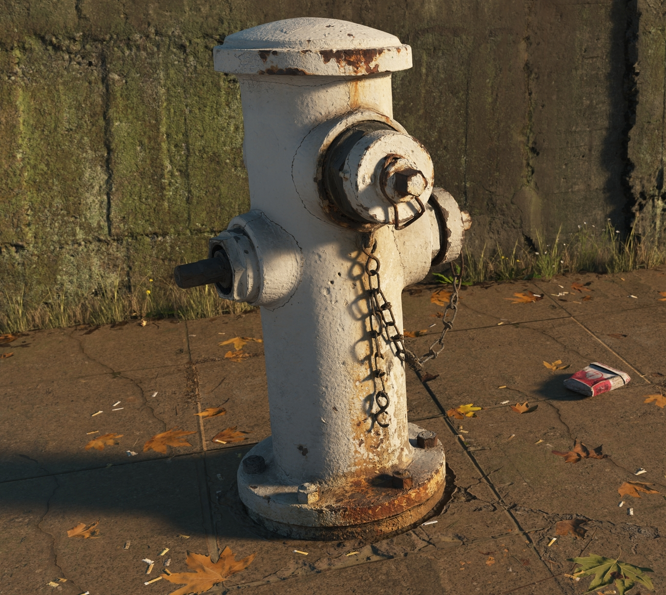 Rusty Old fire hydrant by iborg64