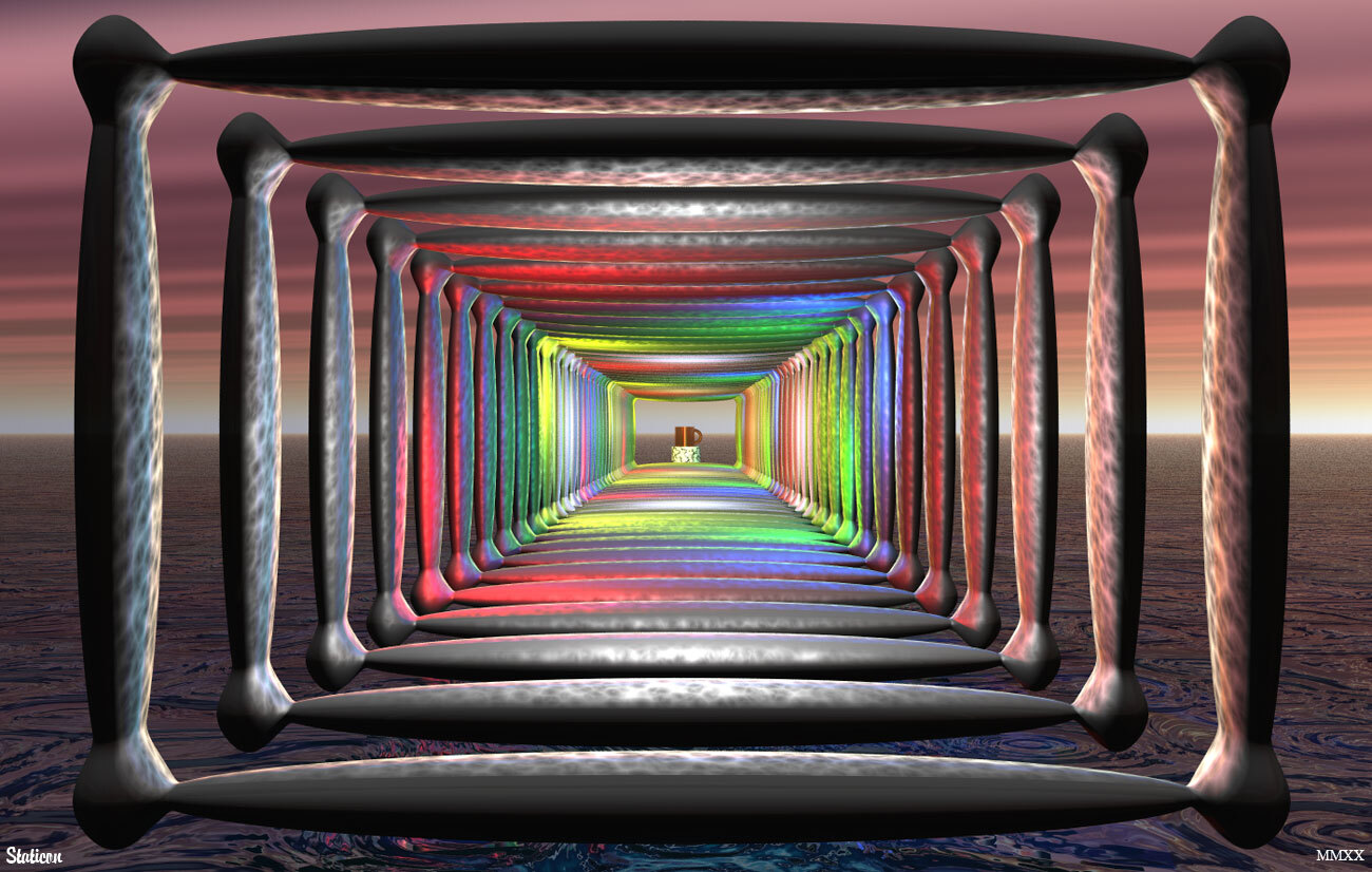 Tunnel Vision 1 by Staticon