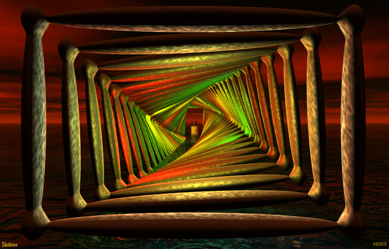 Tunnel Vision 2 by Staticon