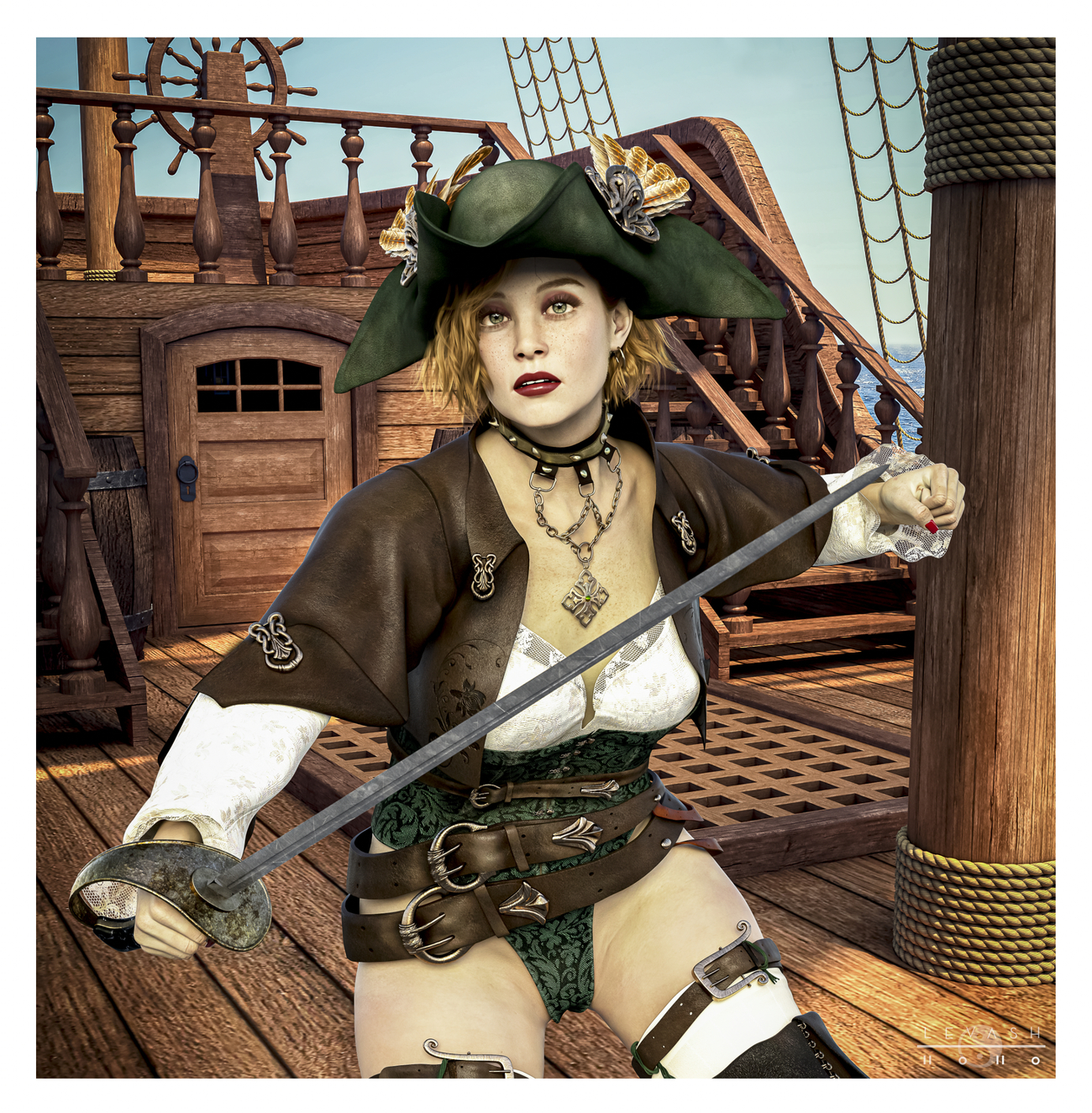 MUTINY ON THE BOUNTY by ASimple3DGuy