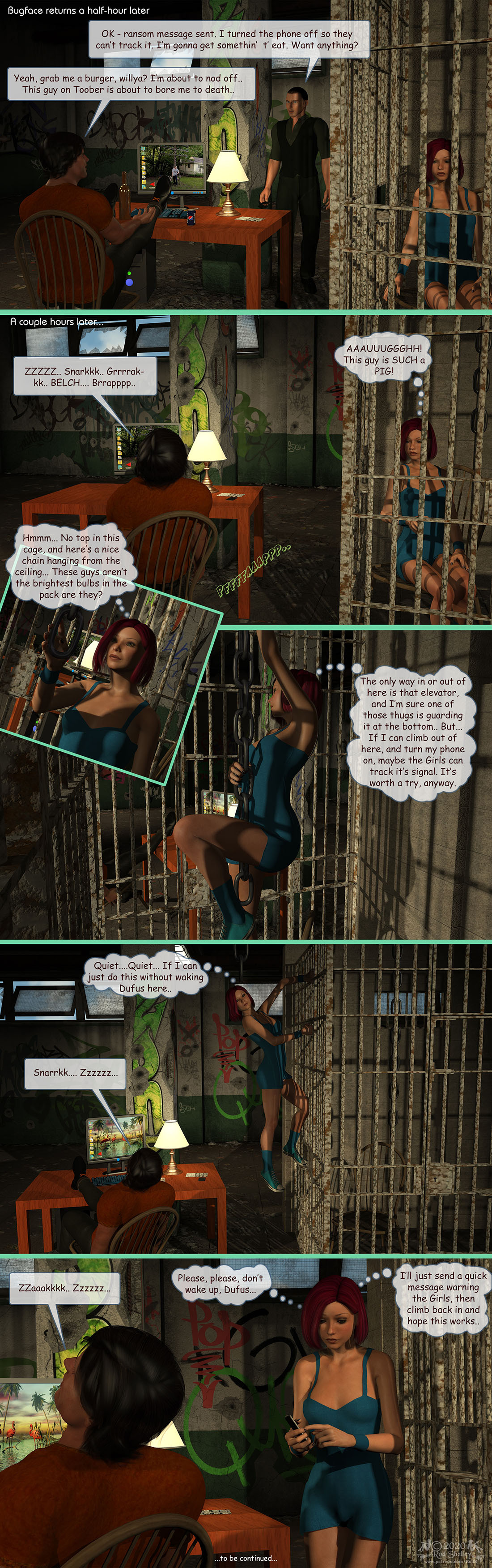 Girls From T.N.A: Breitlenger Jar: Ch 7 Page 10 by RodS