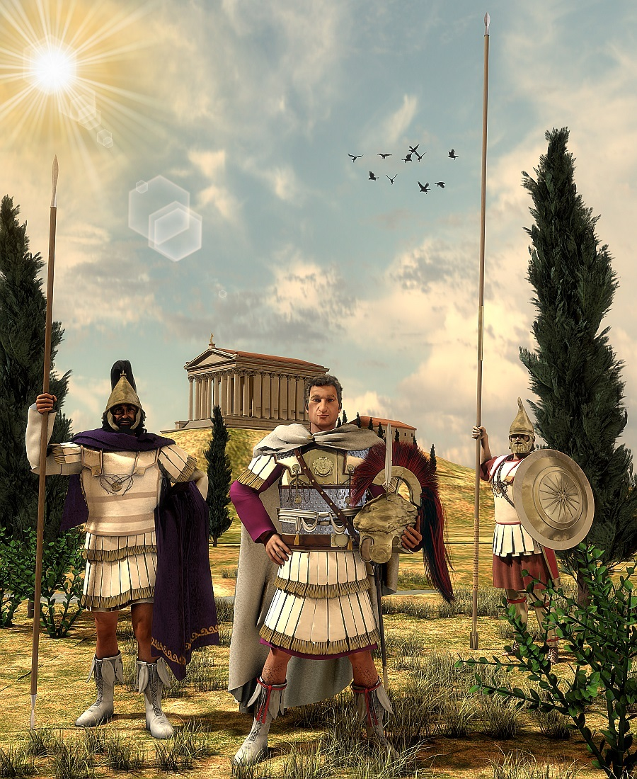 Alexander the Great 334BC by HBalckl