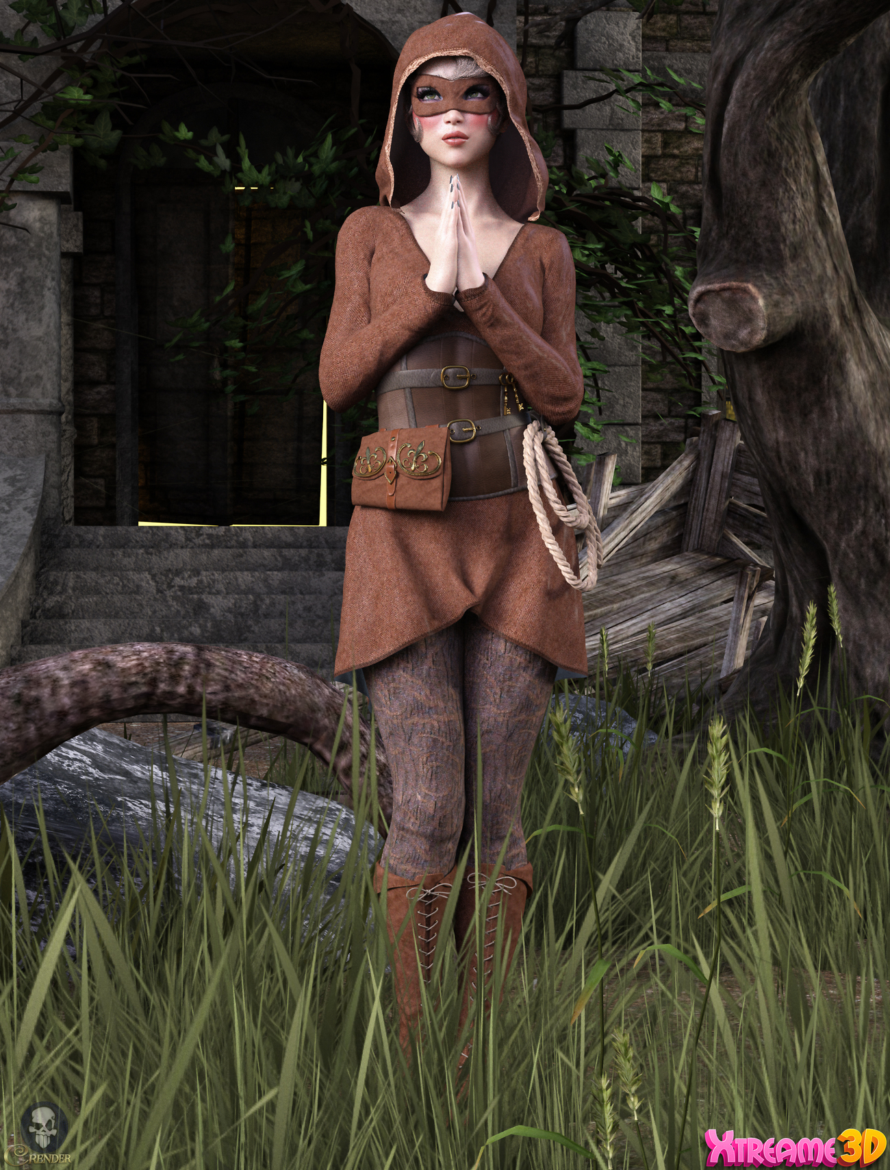 Moods - Poses for G8F by Hameleon by crender
