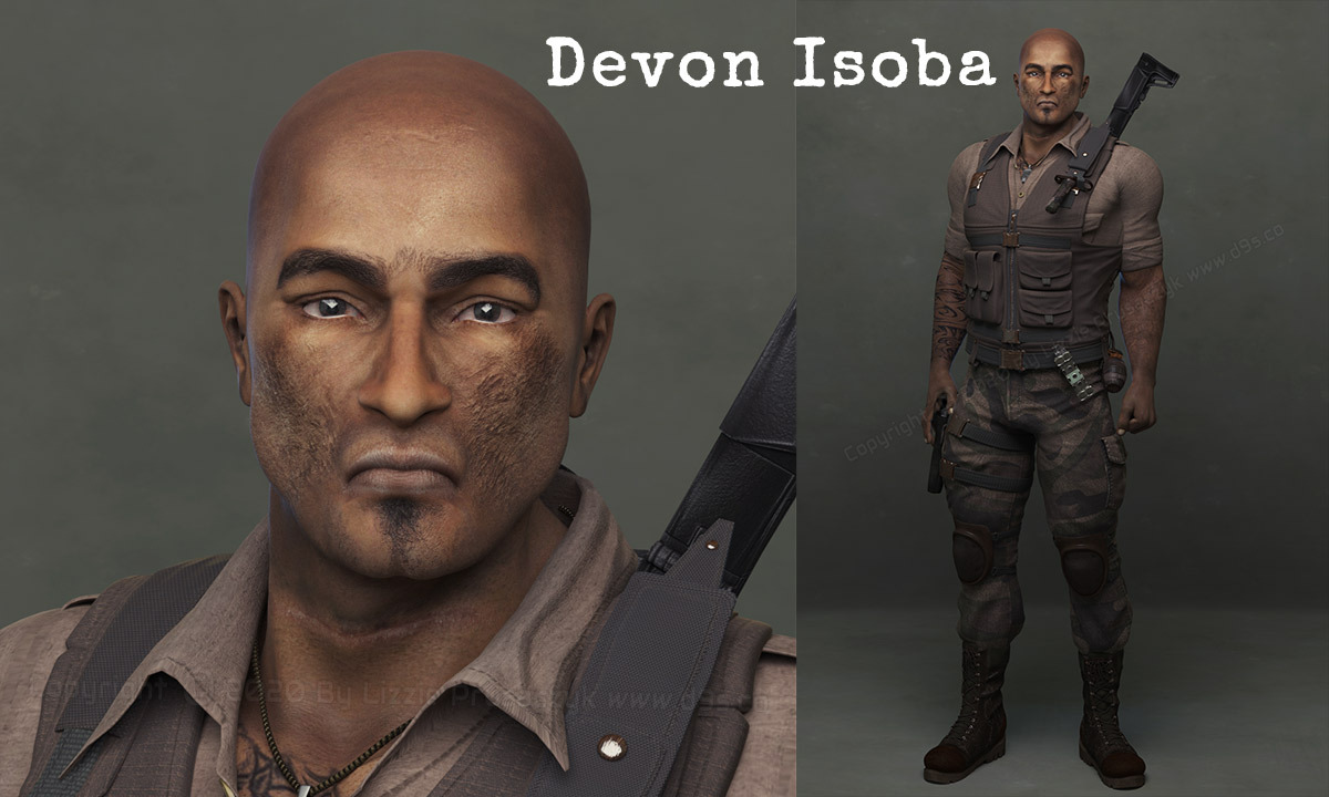 SBP Character: Devon Isoba by Dream9Studios