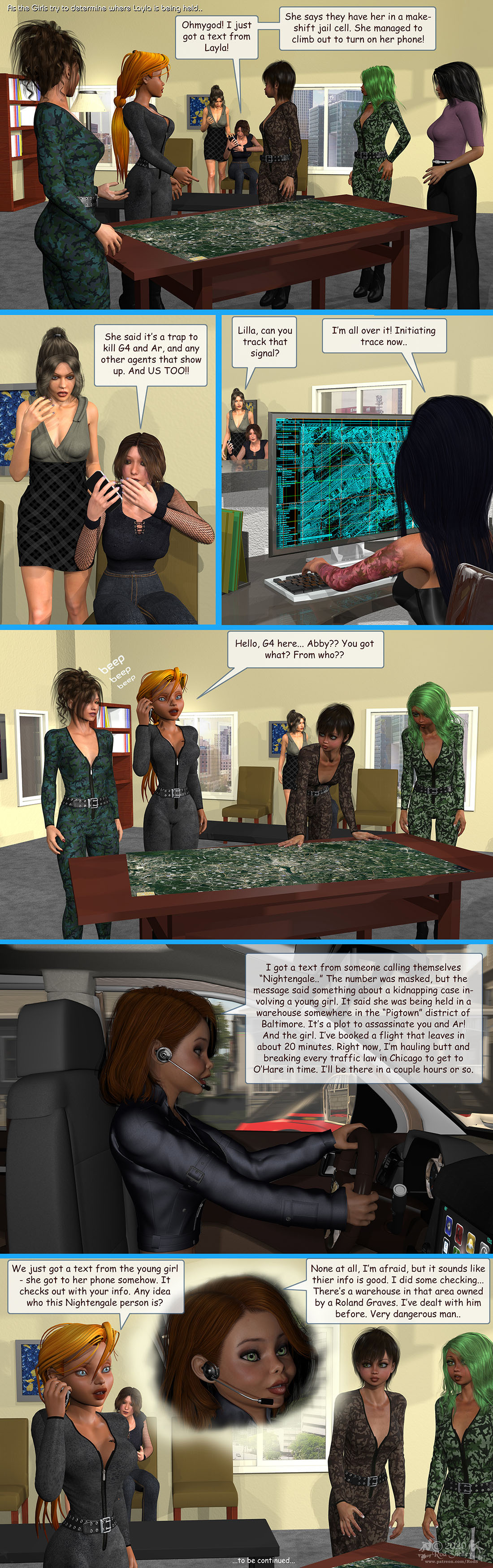 Girls From T.N.A: Breitlenger Jar: Ch 7 Page 11 by RodS