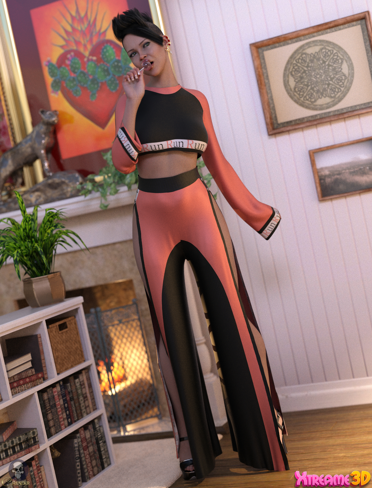 fancy sport clothing for g8f by Fefecoolyellow by crender