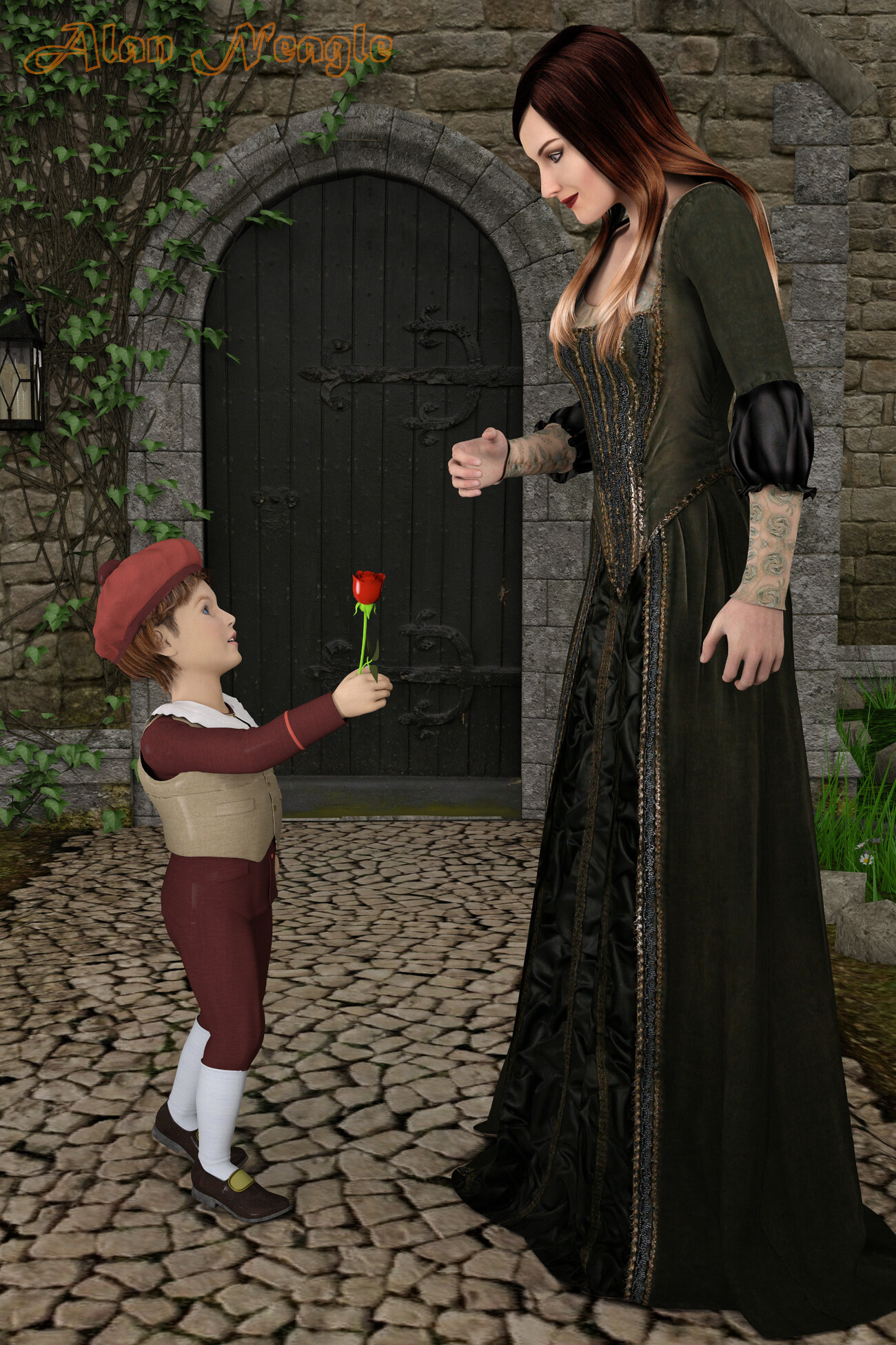 A Rose for M'lady