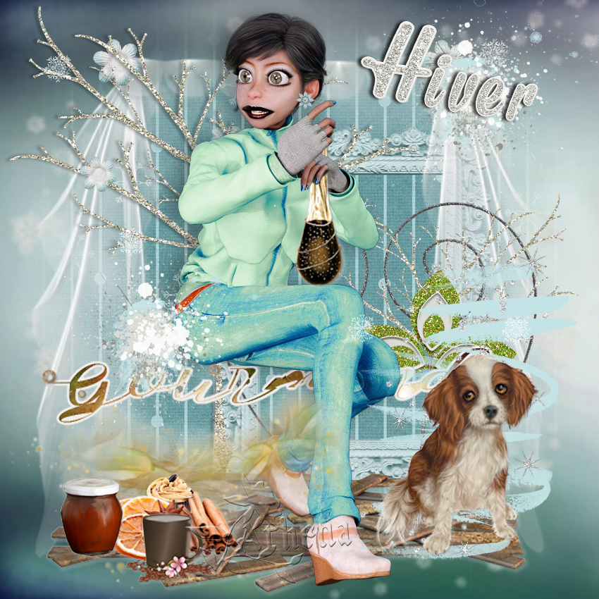 Hiver gourmand by Odyssey Graph
