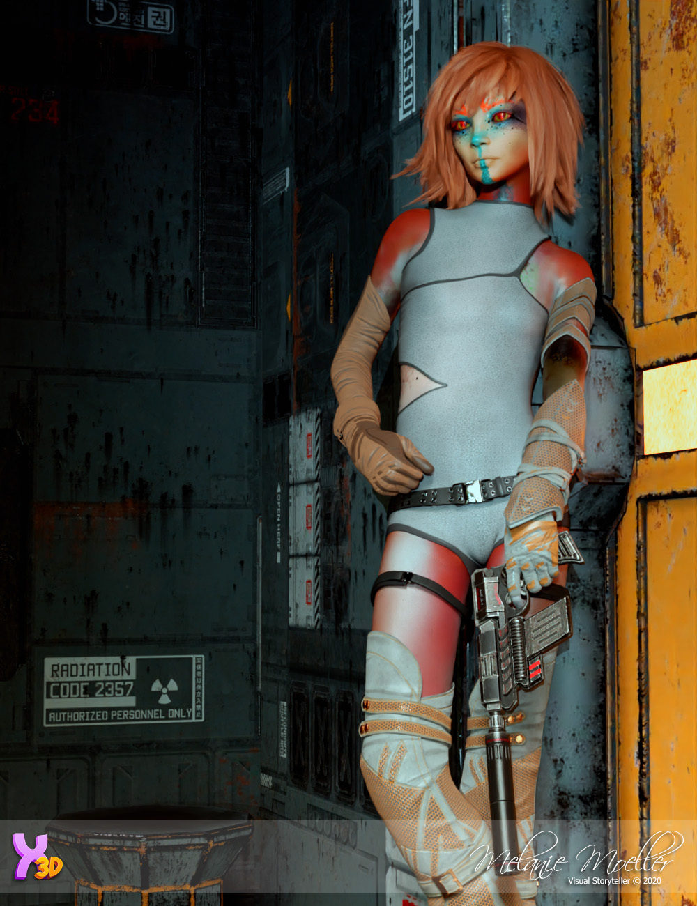 Clady for Xtrart-3d by Nyala