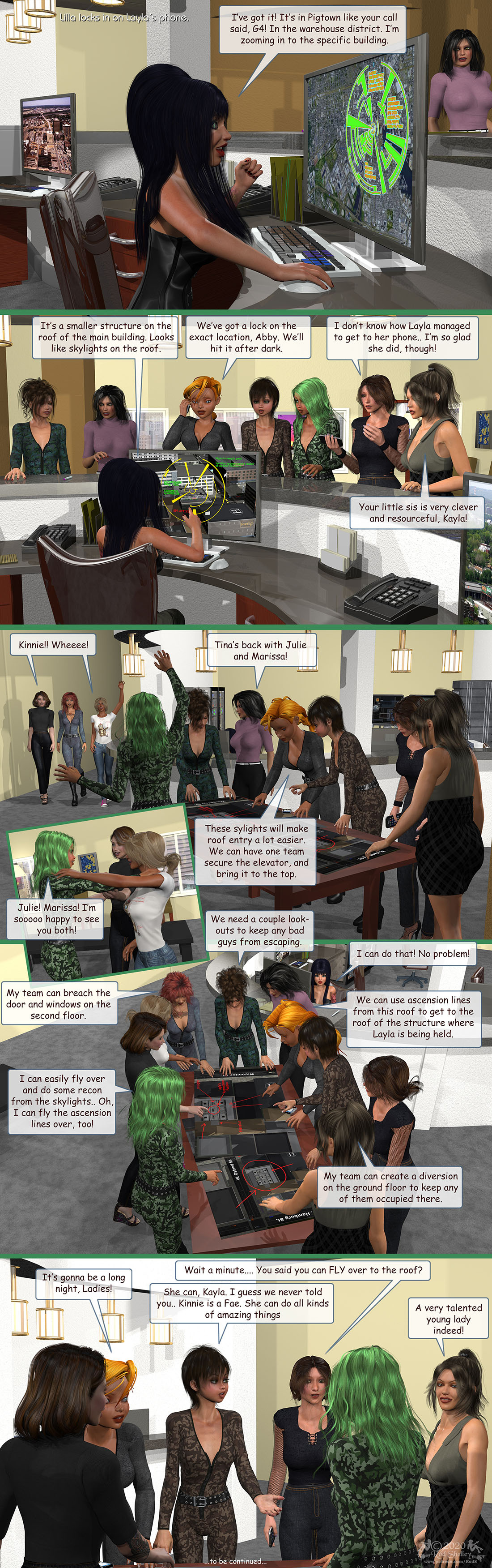 Girls From T.N.A: Breitlenger Jar: Ch 7 Page 12 by RodS