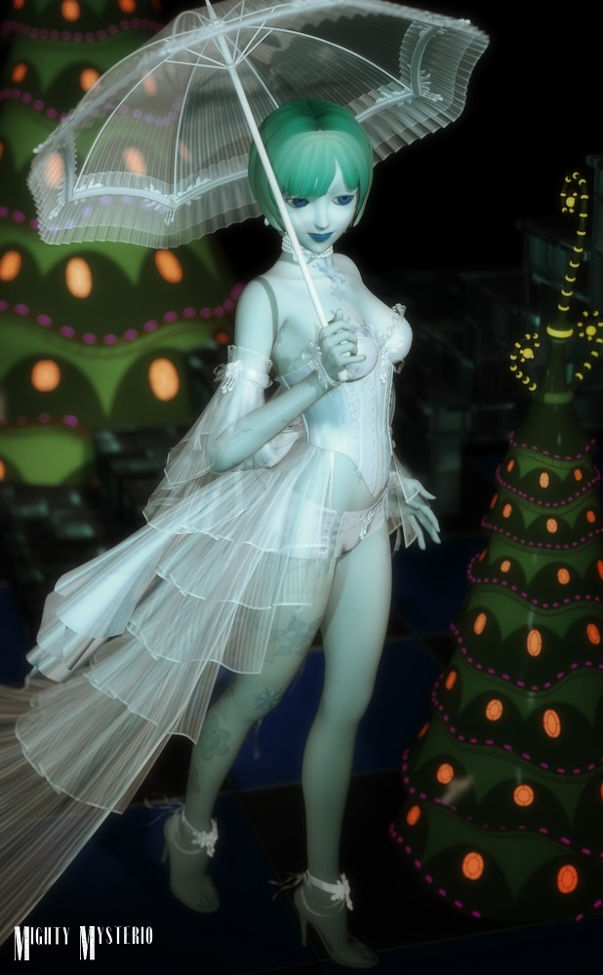 Winter Fae by mightymysterio