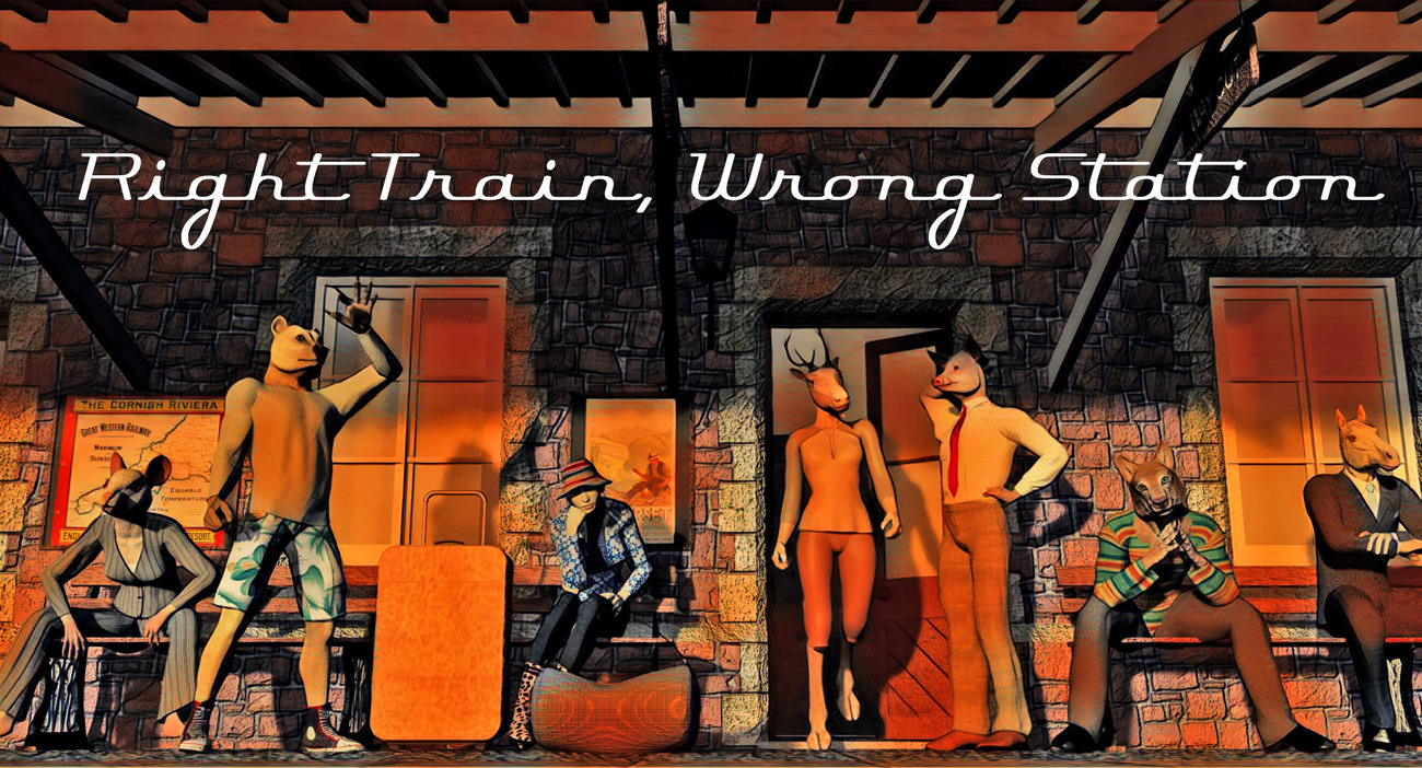 Right Train, Wrong Station by rps53