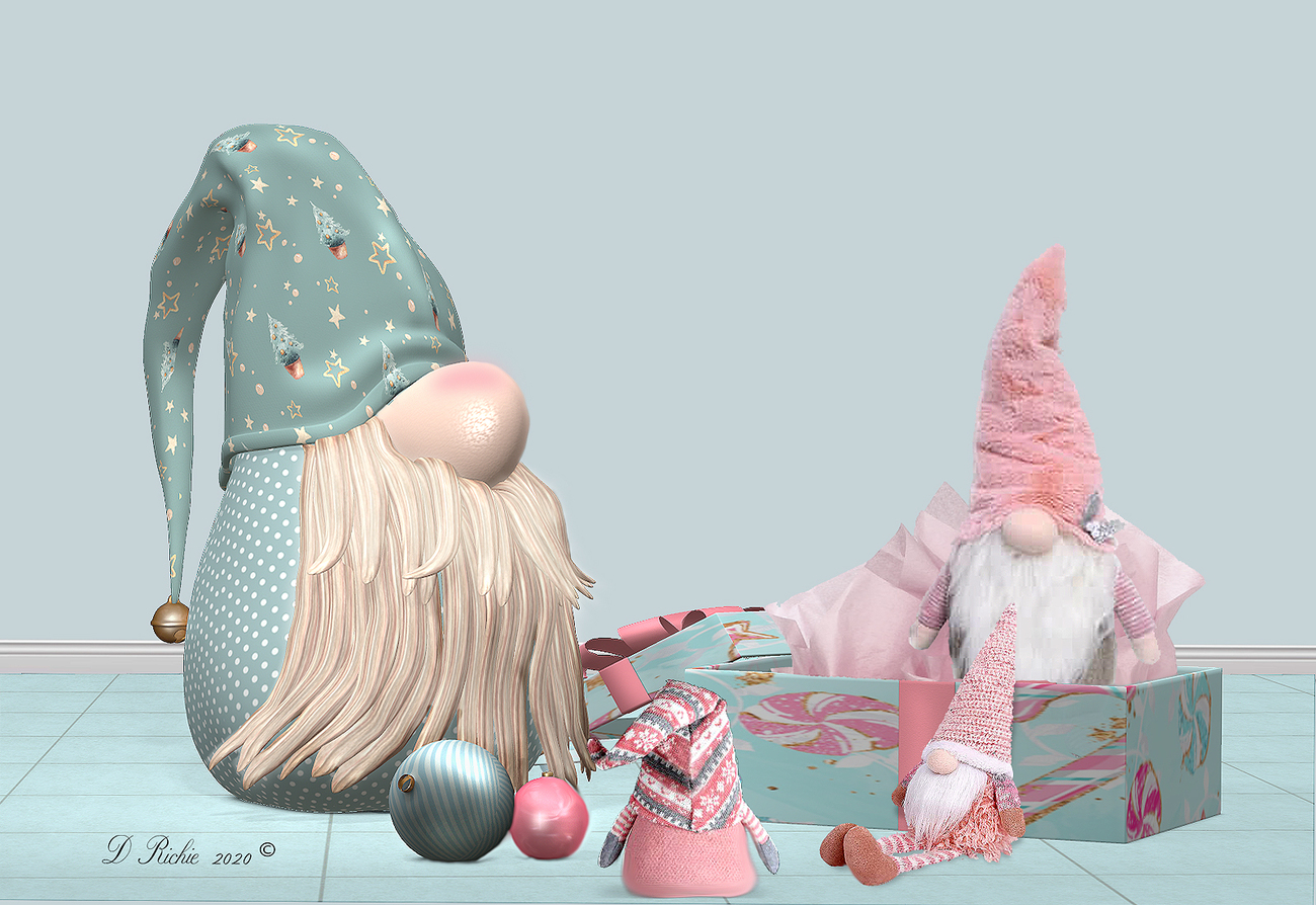 Gnomes in the Pink