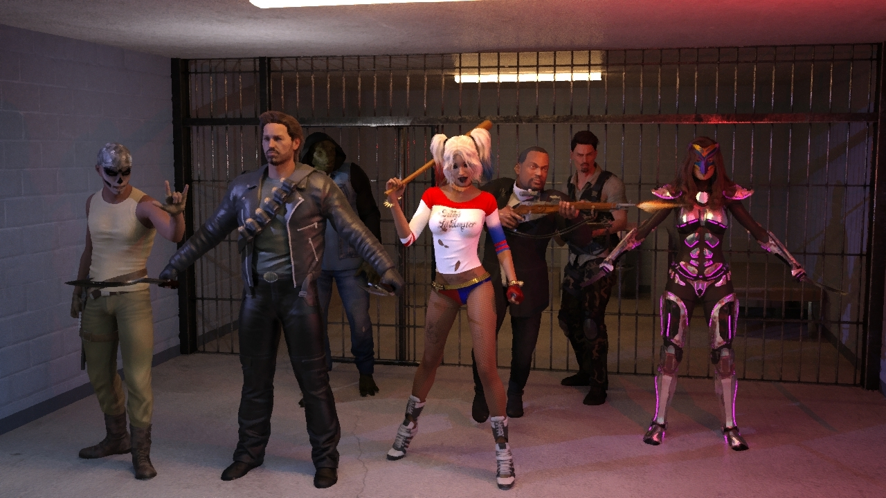 Suicide Squad by bucyjoe