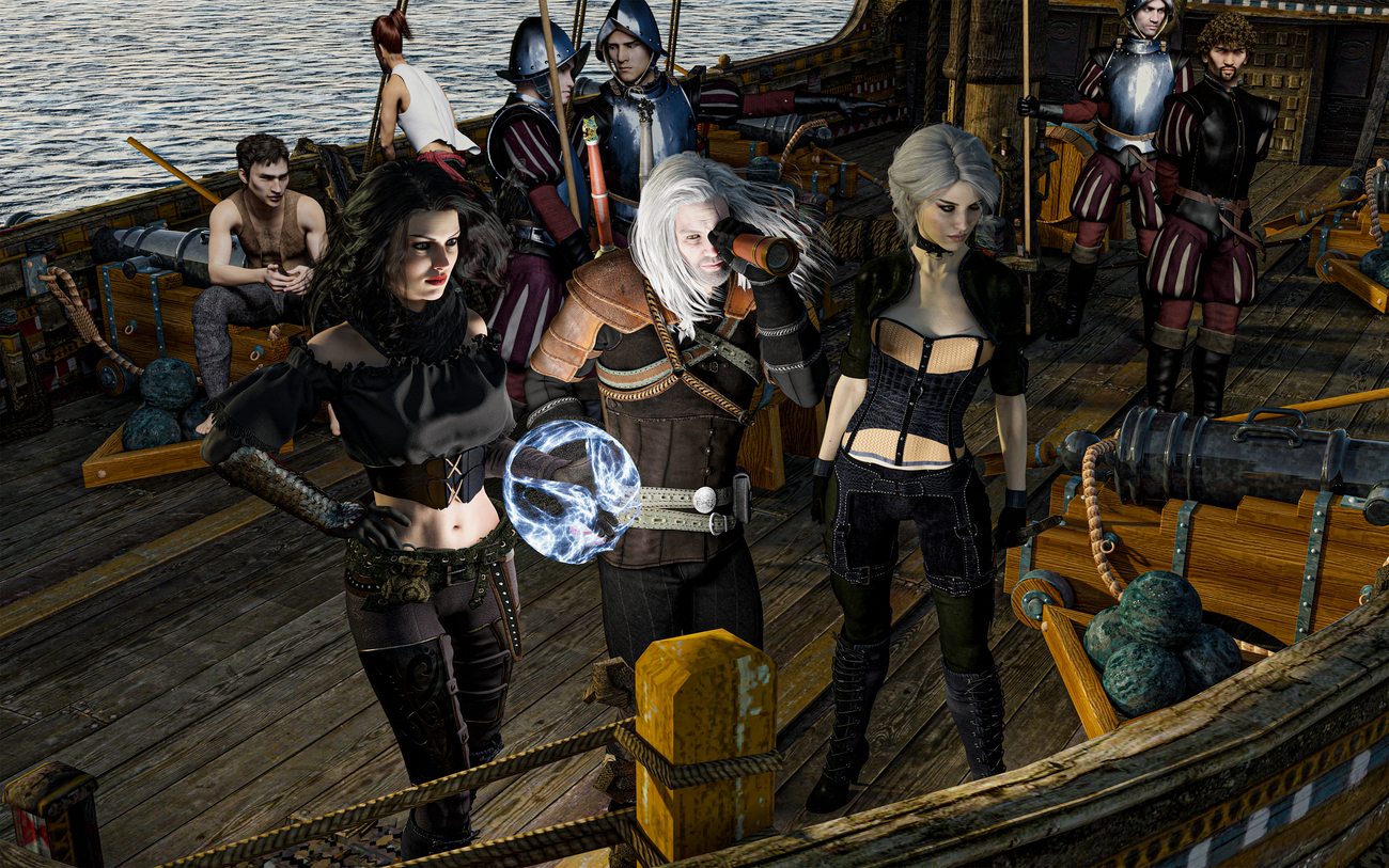 SCENE FROM THE WITCHER by Wild_Card