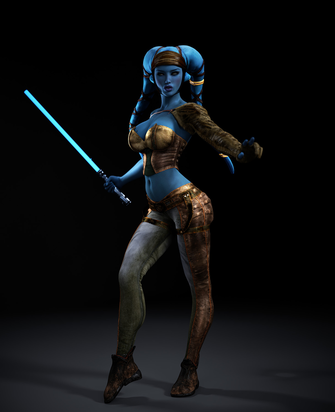 Aayla Secura for RLPeeps by Jelly_Bean