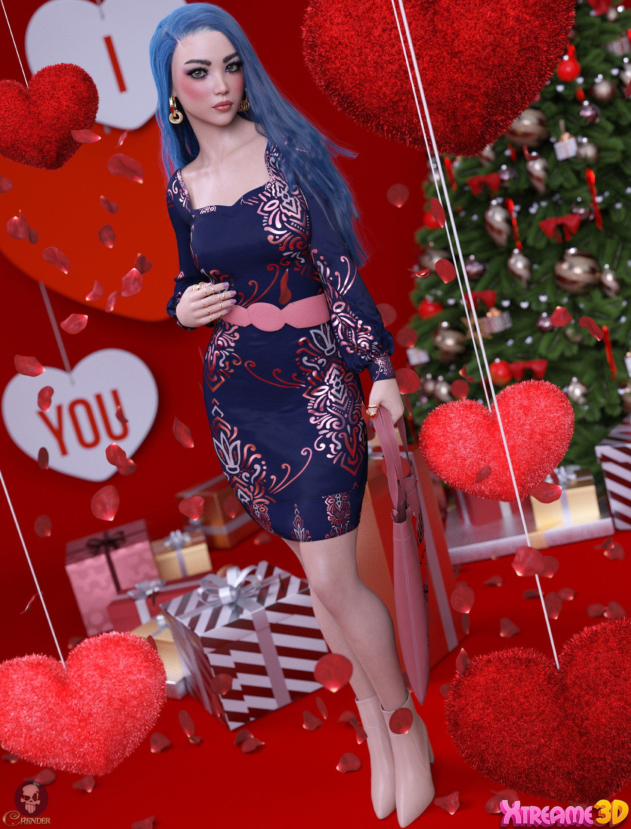 dForce Cora Outfit G8F by Nelmi 3 by crender