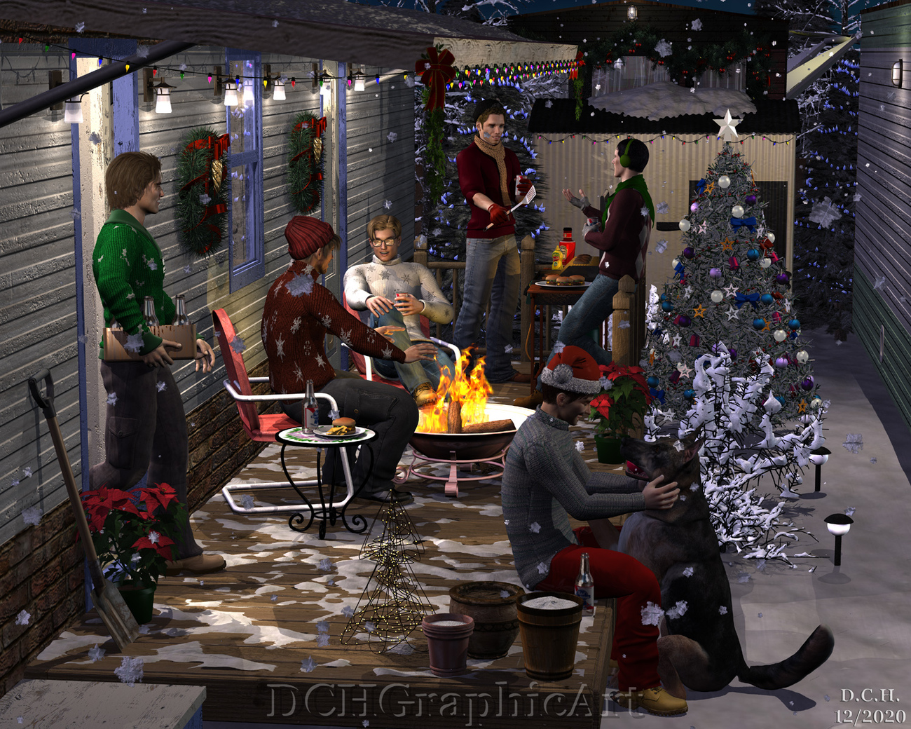 Happy Holidays!  2020 by uncollared