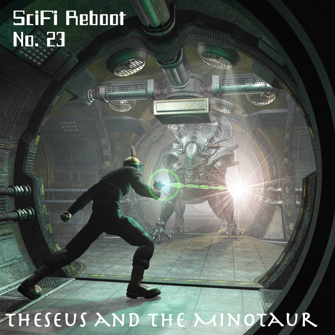 SciFi Reboot No. 23: Theseus and the Minotaur by rps53