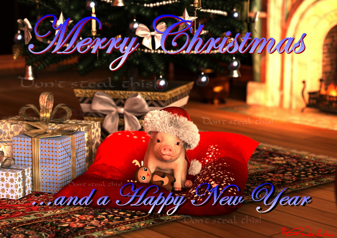 Merry Christmas for my Rendo Friends