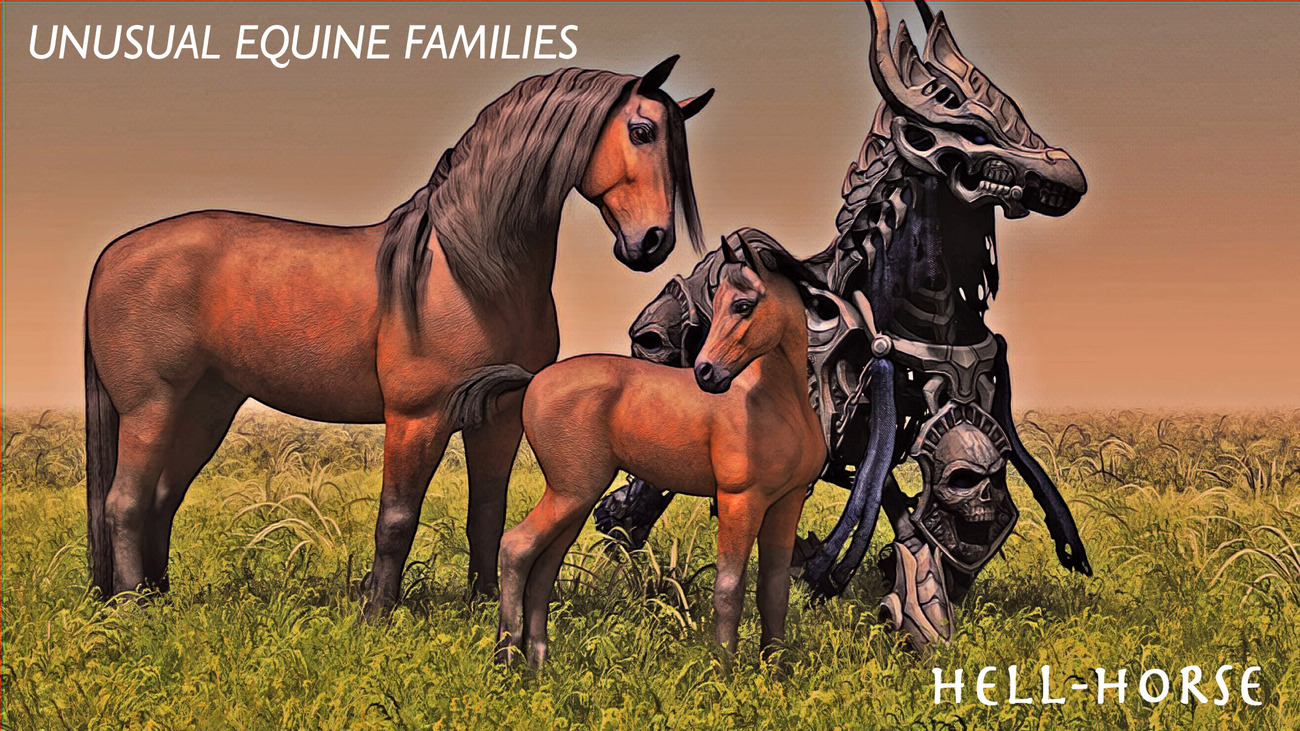 Unusual Equine Families (Version 2) by rps53