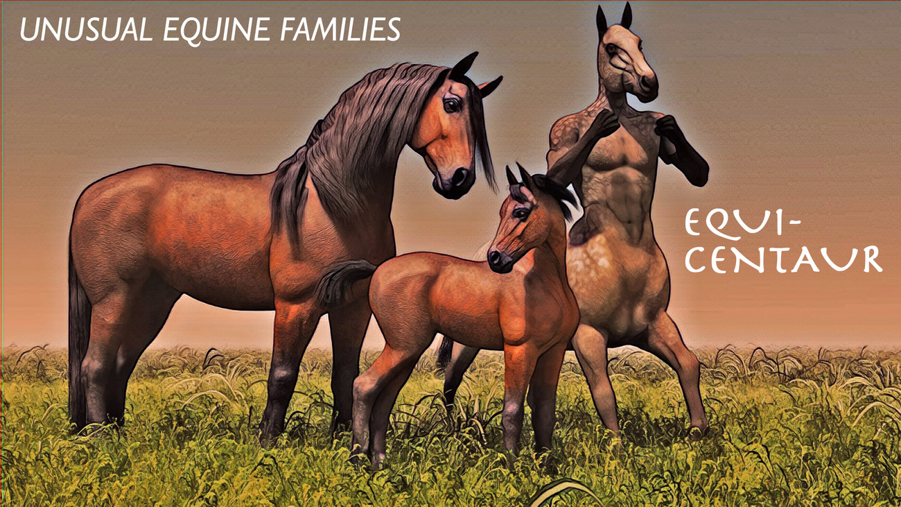 Unusual Equine Families (Version 3) by rps53