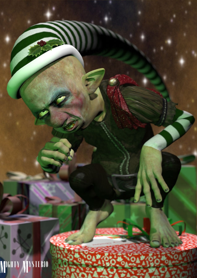 The Holiday Elfin Goblin by mightymysterio