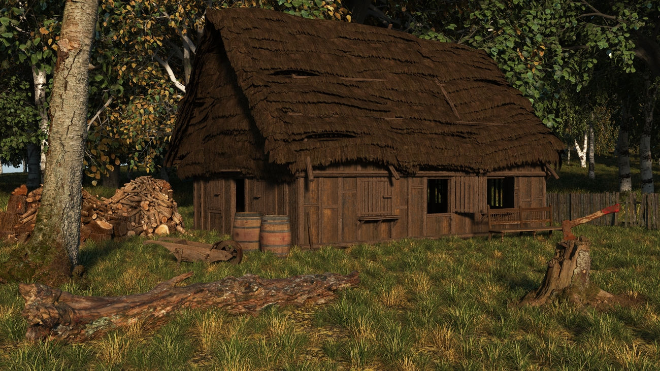 The woodcutters cottage by iborg64