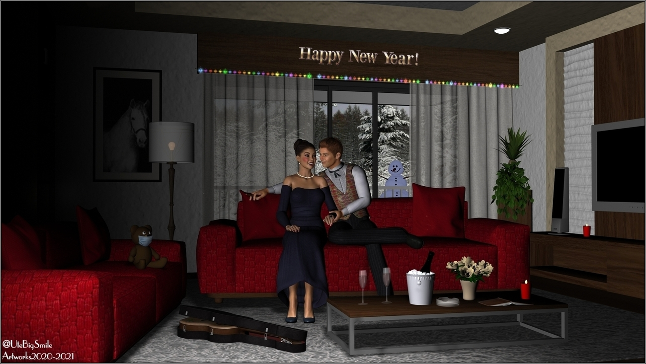New Years Eve alone at Home! by UteBigSmile