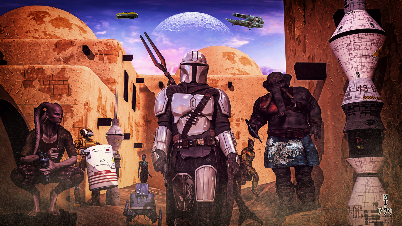 For a Few Mandalorians More by moebiustraveller