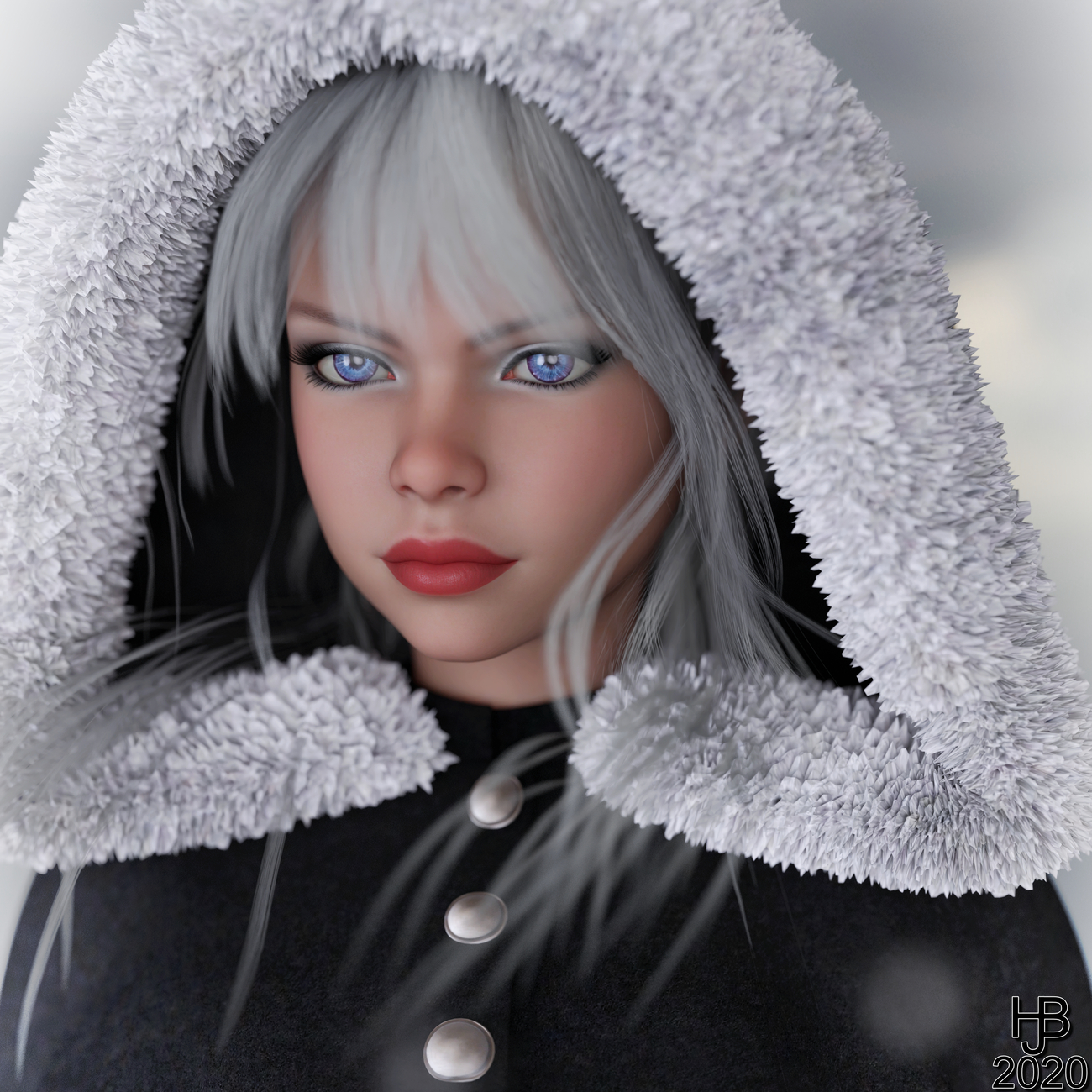 Snow Girl by Hajoba