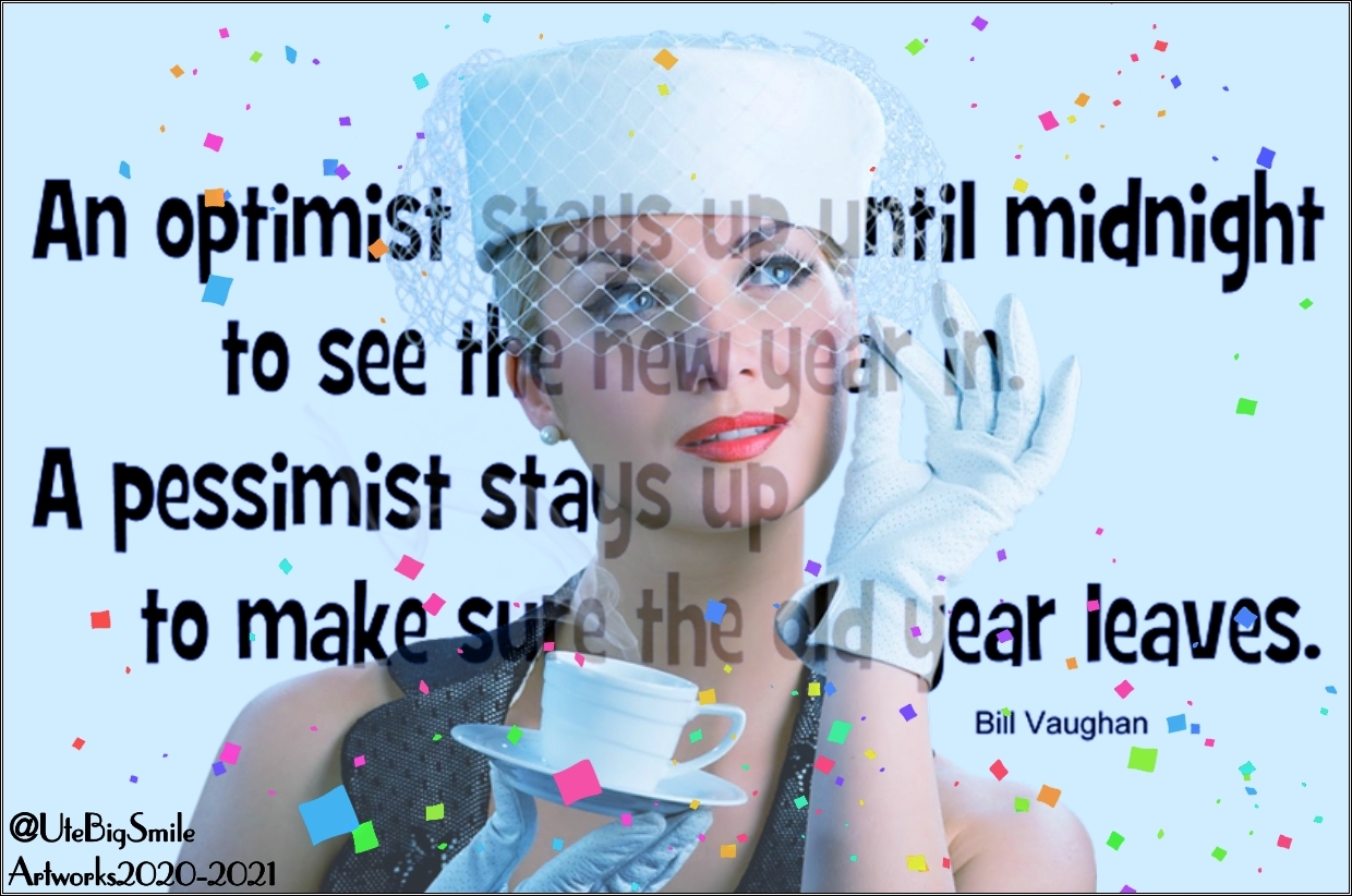 New Year Motivational Quote! by UteBigSmile