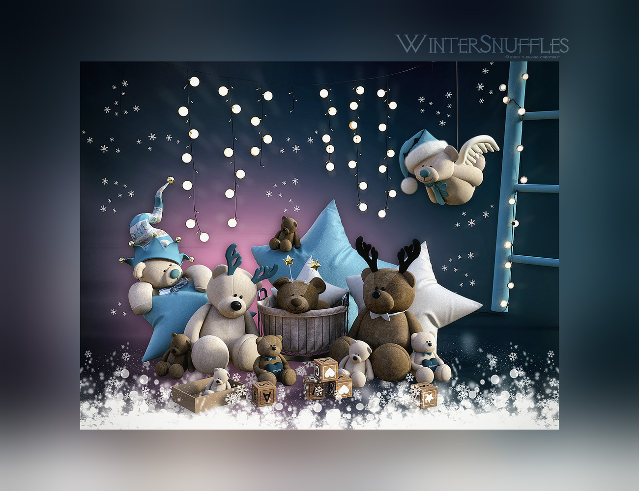 ~*WinterSnuffles*~ by Leilana