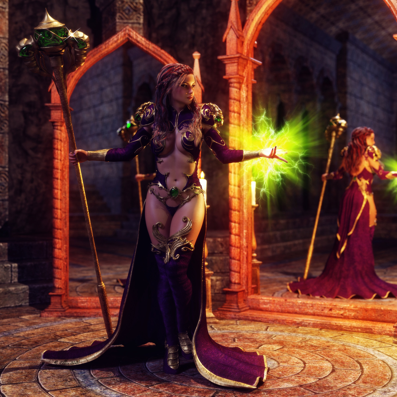 Daughters of The Mage II by Horusra1967