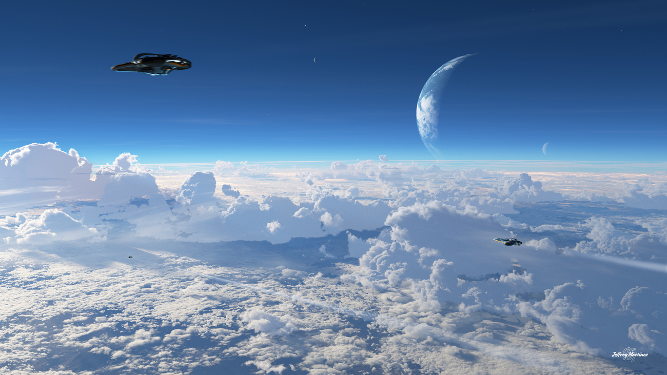 The Cloud Skippers by jhmart1
