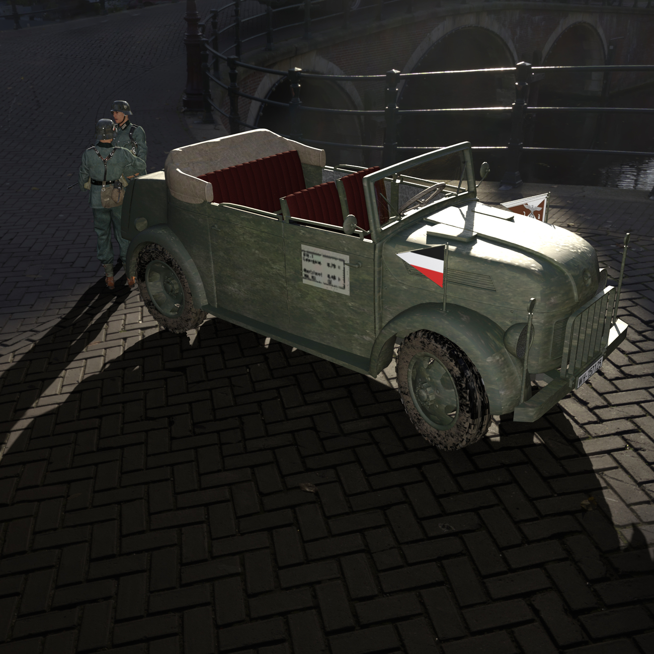 German command car by x7