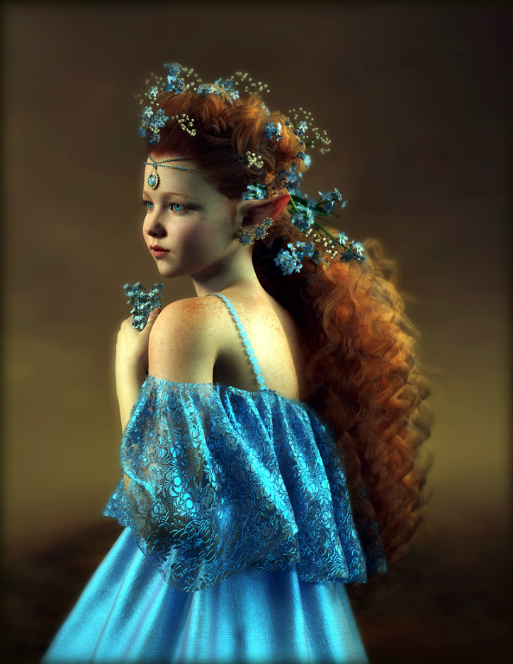 Blue Fairy by Pepsel