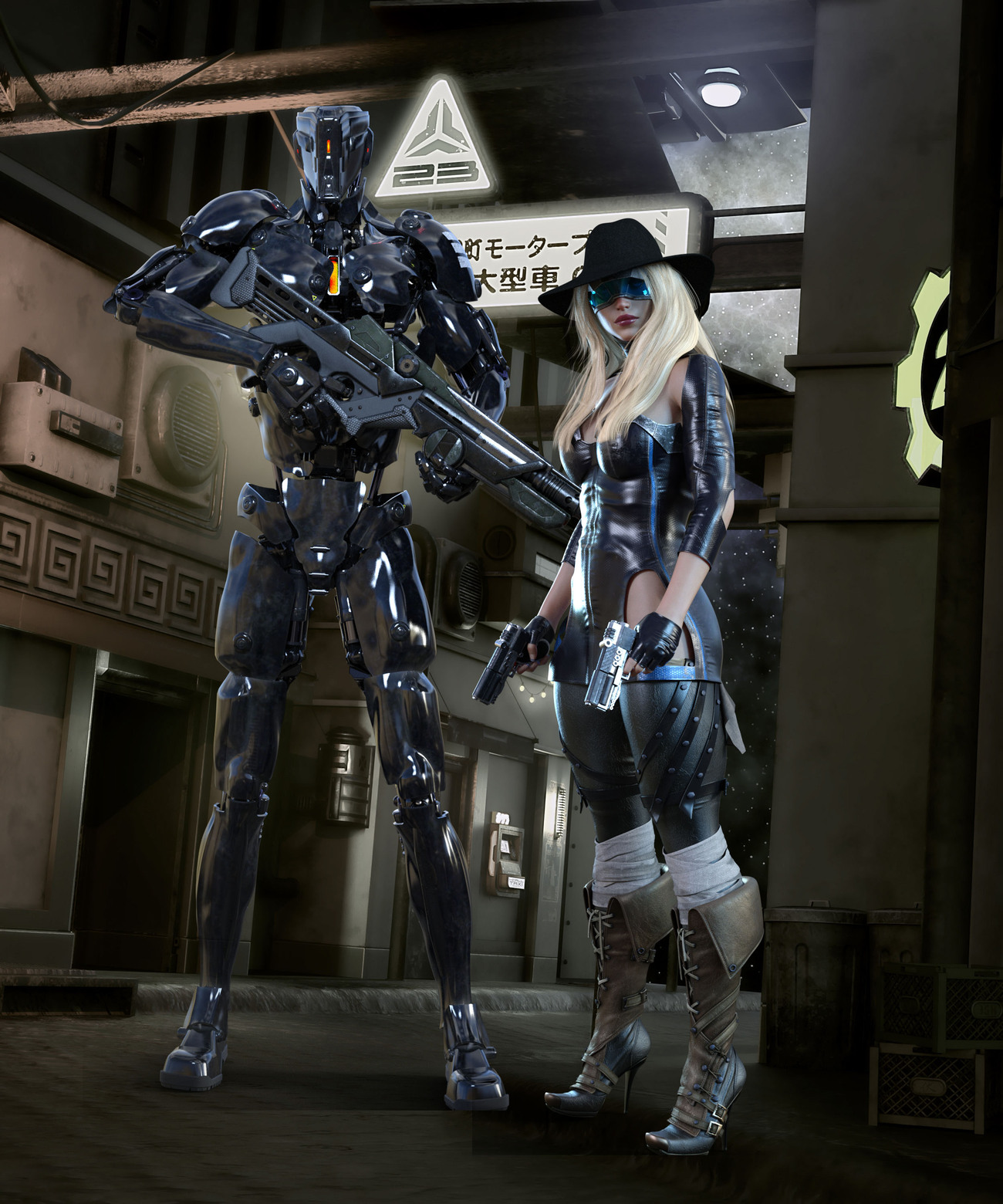 Future Cops by Tracesl