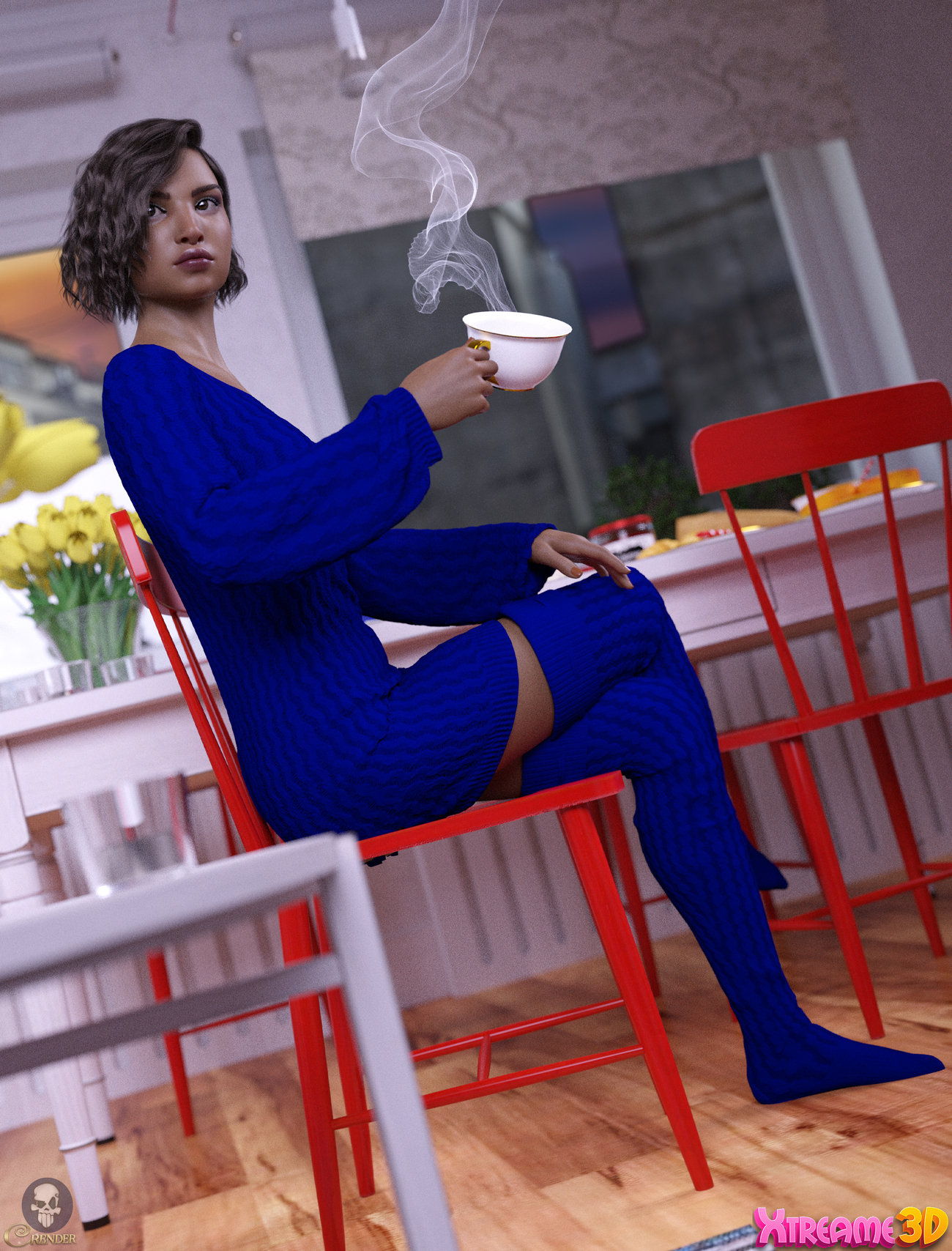 X-Fashion Holiday Outfit for G8F 3 by crender