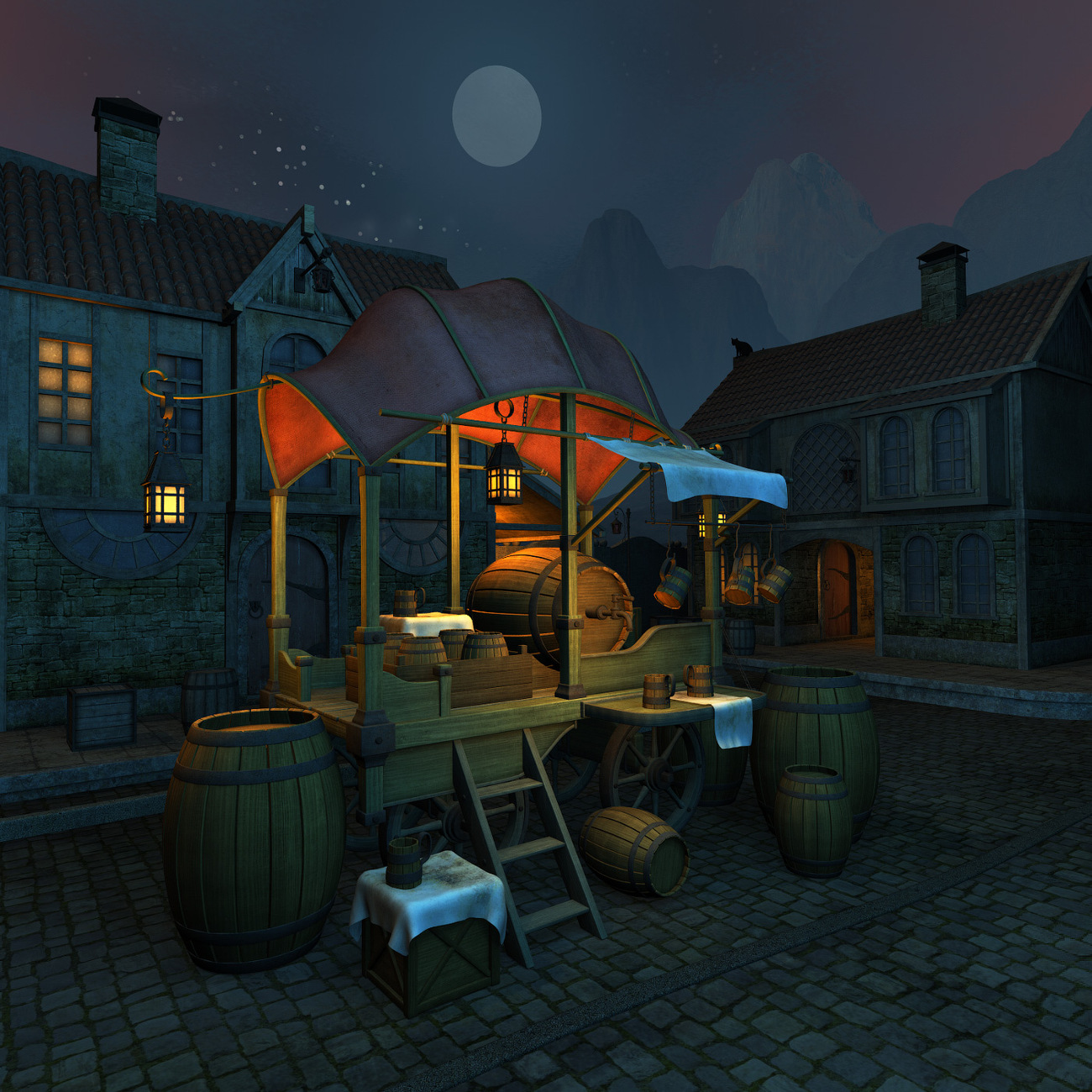 Moonshiner stall by 1971s