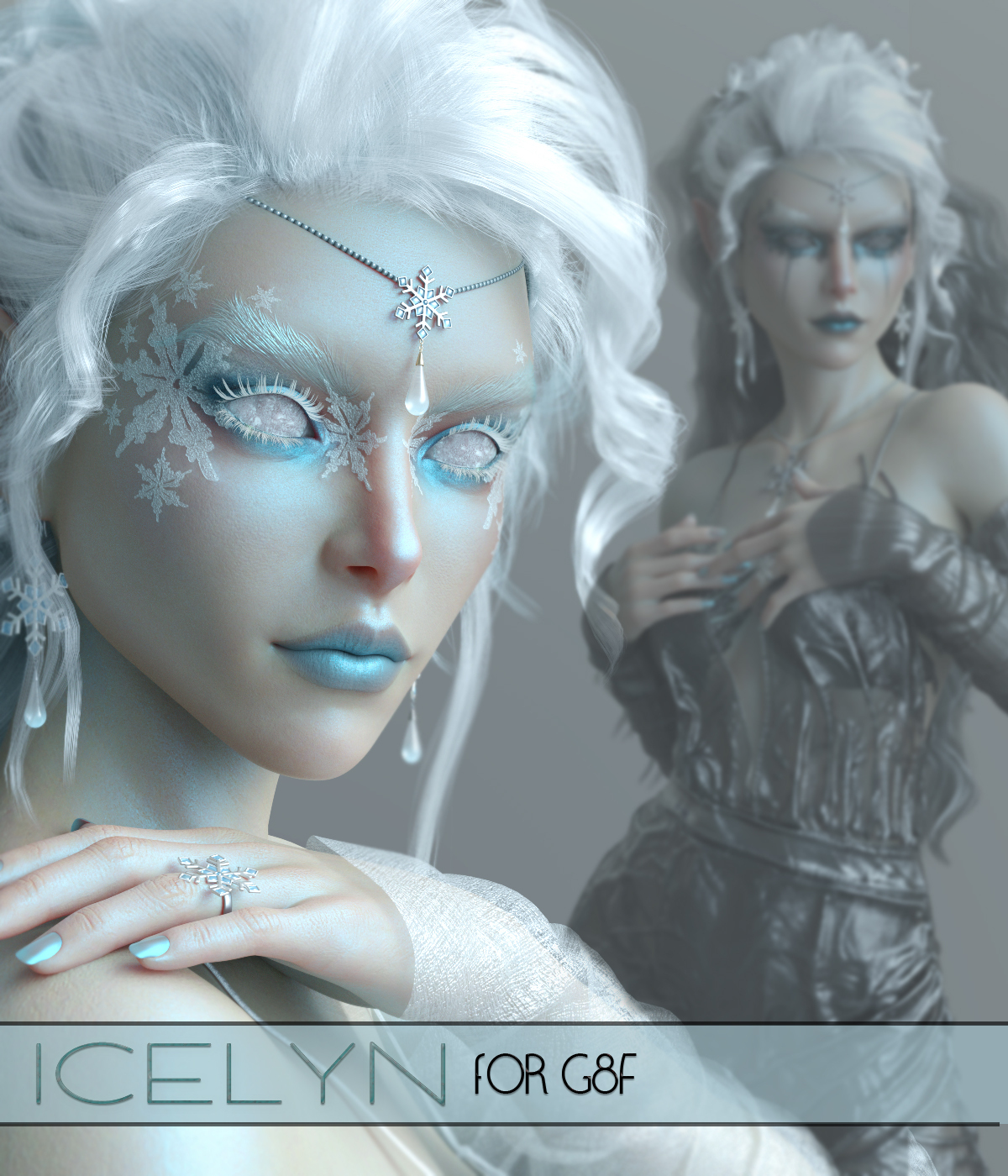 Icelyn for G8F- Available Now! by Maddelirium