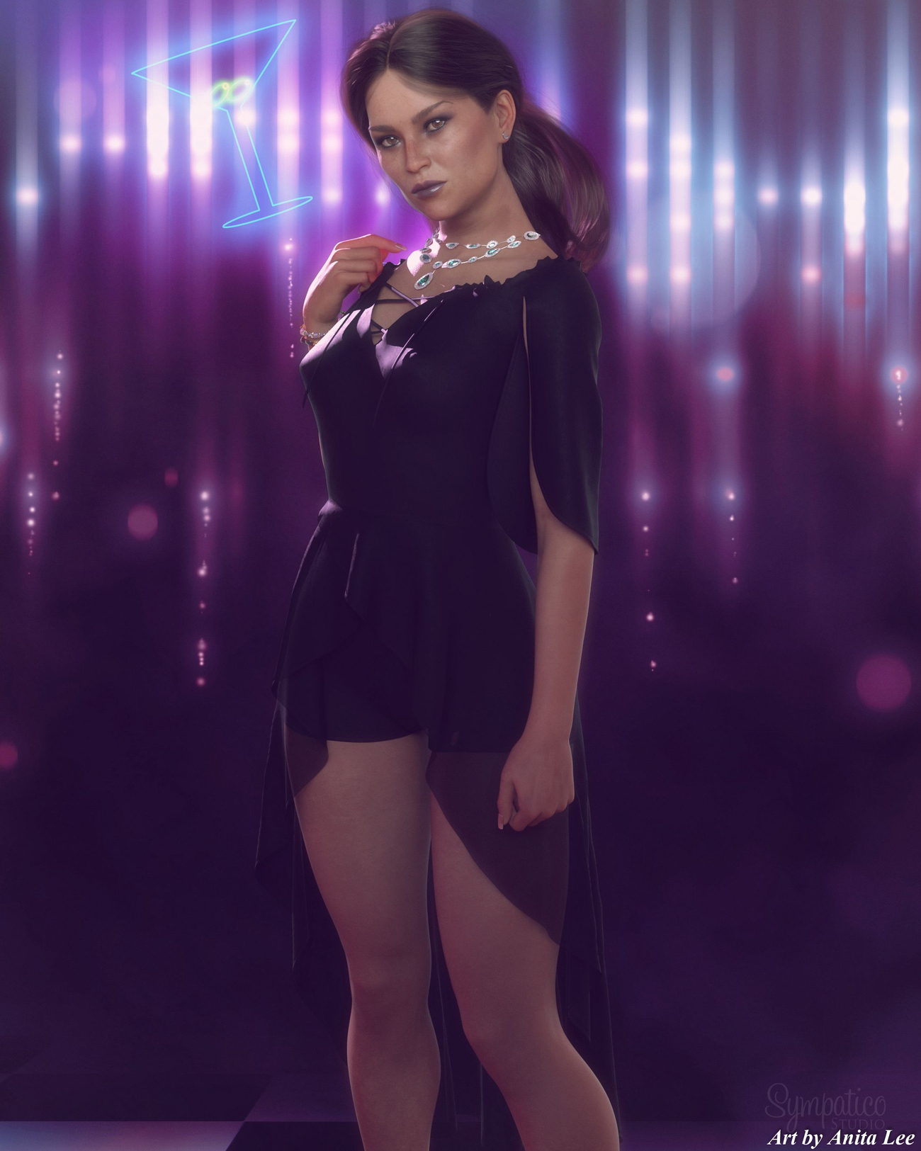 Night out by anitalee