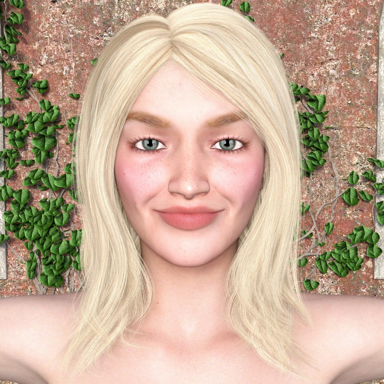 Tamsin's Smile by RenderInfer