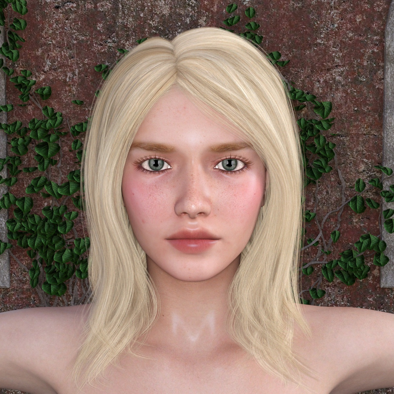 Tamsin's Portrait by RenderInfer