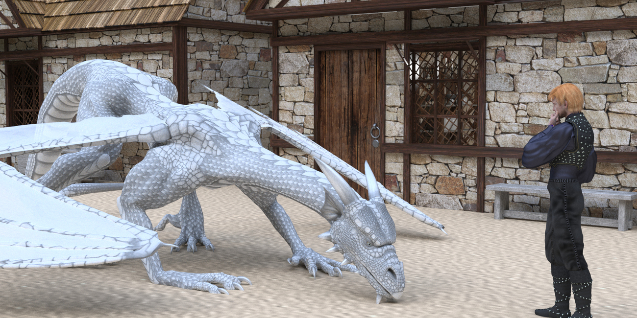 Crossbreeds Part 1: Chapter 12 The White Wyrm by RedPhantom