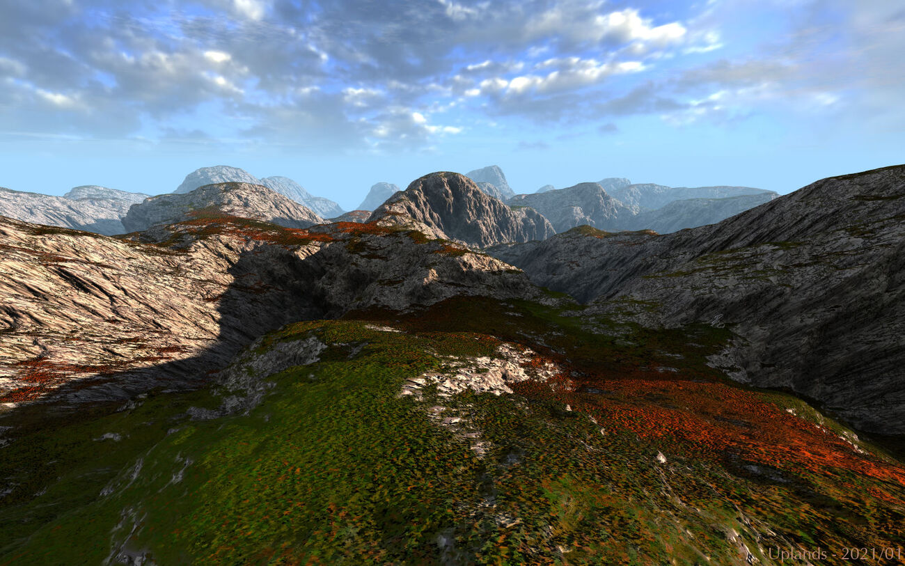 Uplands by BryceHoro