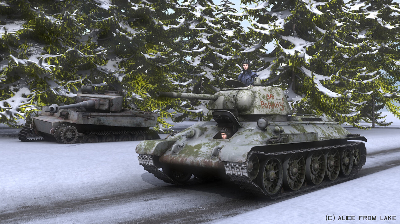 Winter War by AliceFromLake